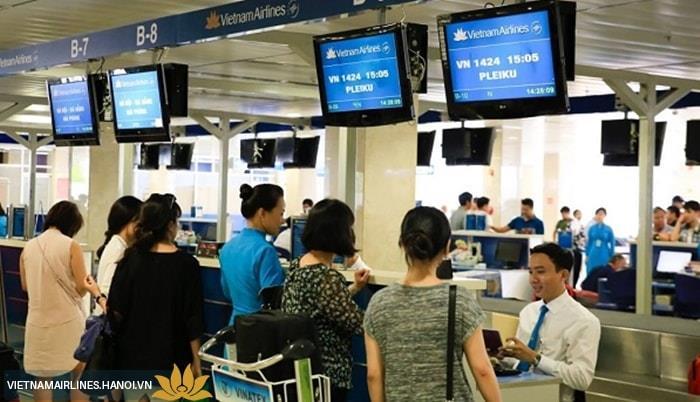 Hướng dẫn cách check-in trực tuyến Vietnam Airlines chi tiết
