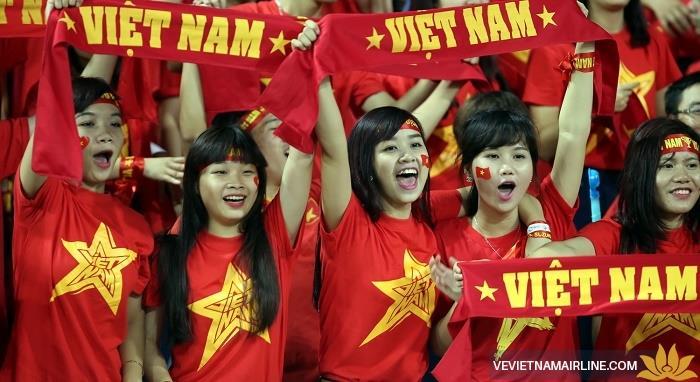 Vietnam Airlines đài thọ người thân cầu thủ U23 Việt Nam sang Trung Quốc xem chung kết