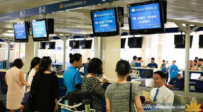 Kinh nghiệm làm thủ tục check-in của Vietnam Airlines tại sân bay Tân Sơn Nhất