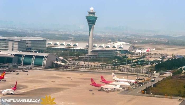 Từ 26/4: Vietnam Airlines chuyển nhà ga khai thác tại Sân bay Quảng Châu