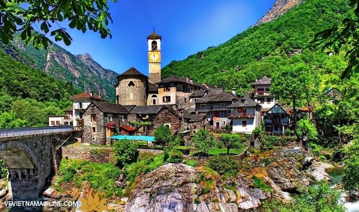 Những ngôi làng đẹp như tranh vẽ ở Thụy Sỹ