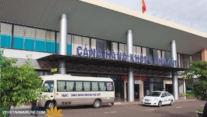 Vietnam Airlines chuyến hoạt động khai thác tại nhà ga mới ở sân bay Phù Cát - Quy Nhơn