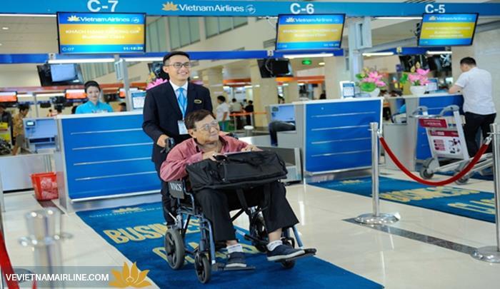 Hành khách hạn chế khả năng đi lại