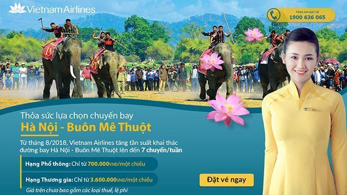 Ưu đãi từ Vietnam Airlines chỉ 700.000 VNĐ giá vé một chiều