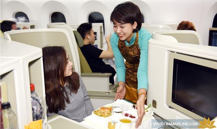 Chi tiết về suất ăn theo chế độ y khoa của Vietnam Airlines