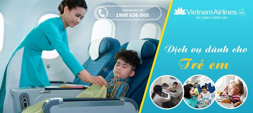 Dịch vụ giành cho trẻ em dưới 2 tuổi của Vietnam Airlines