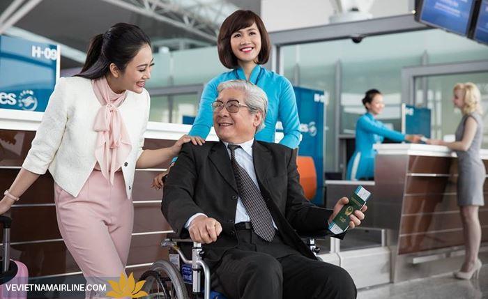 Dịch vụ giành cho hành khách cần sự chăm sóc y tế đặc biệt của Vietnam Airlines