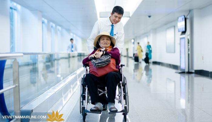 Một số ưu tiên của Vietnam Airlines đối với hành khách đặc biệt
