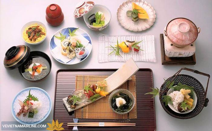 Thưởng thức tinh hoa ẩm thực trong các món ăn Nhật bản