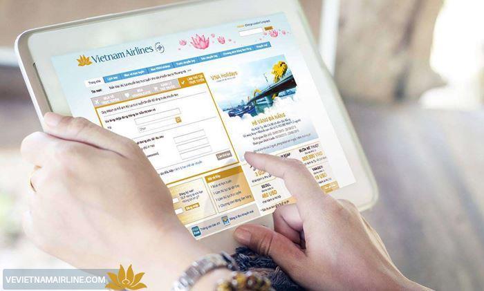 Điều kiện sử dụng tính năng mua vé trực tuyến của Vietnam Airlines