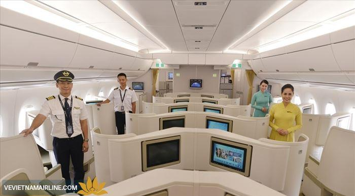Chi tiết về các hạng ghế và dịch vụ của Vietnam Airlines