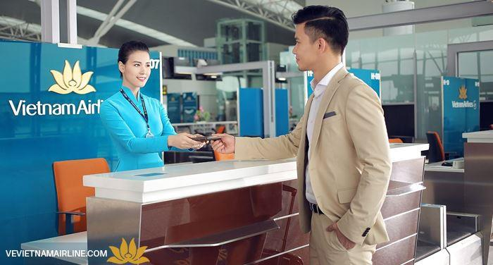 Vietnam Airlines thay đổi vị trí khai thác tại sân bay quốc nội sân bay Nội Bài