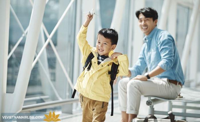 Quy định về các giấy tờ cần thiết cho trẻ khi bay cùng Vietnam Airlines