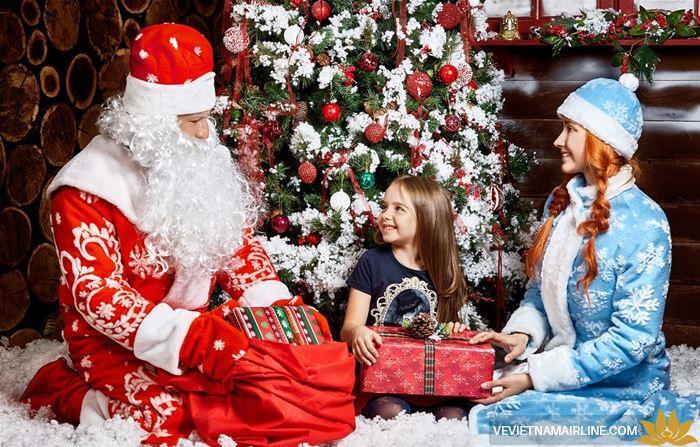 Trải nghiệm những điều khách biệt trong lễ Giáng Sinh ở Nga