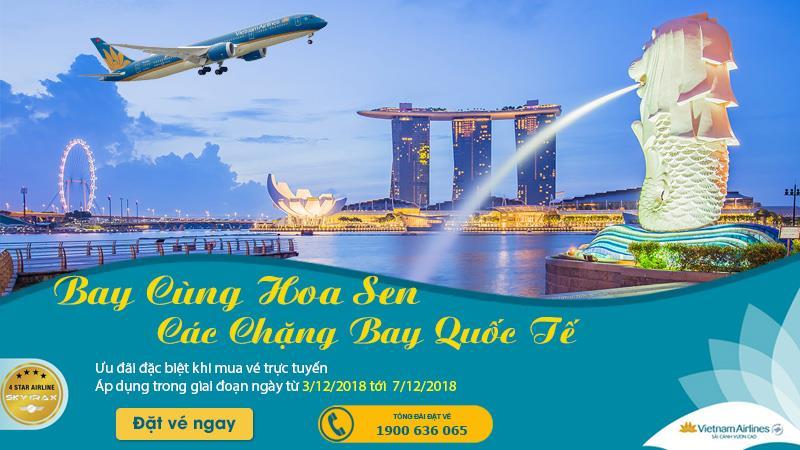 Săn vé máy bay khứ hồi khám phá thế giới cùng Vietnam Airlines
