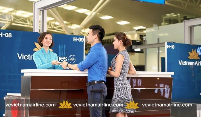 Thay đổi vị trí khai thác của Vietnam Airlines tại nhà ga quốc tế T2 – sân bay Tân Sơn Nhất