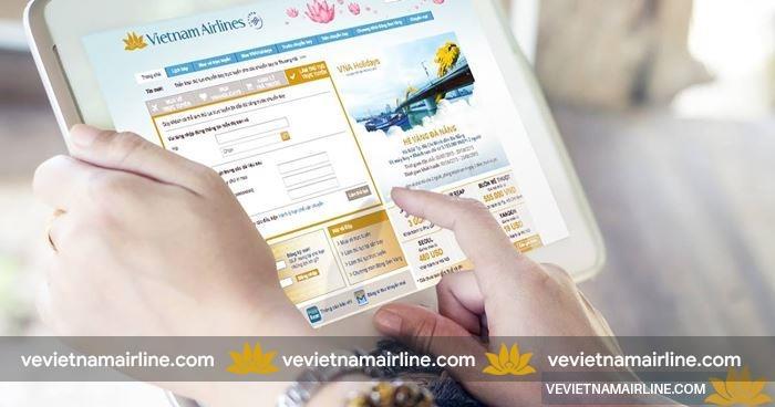 Điều kiện đặt vé trực tuyến của Vietnam Airlines