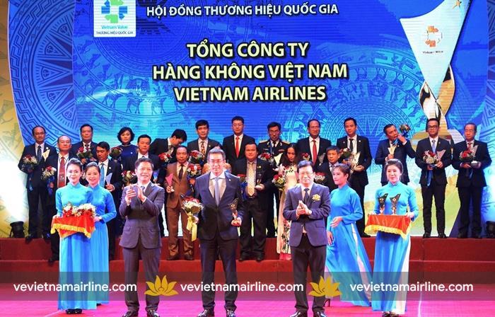 Vietnam Airlines hãng hàng không được vinh danh thương hiệu quốc gia 2018