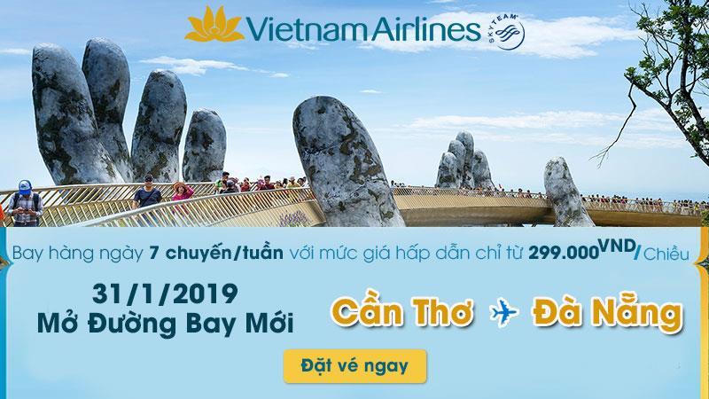 Trải nghiệm khác biệt với hành trình mới Đà Nẵng – Cần Thơ chỉ 299.000Đ/ chiều