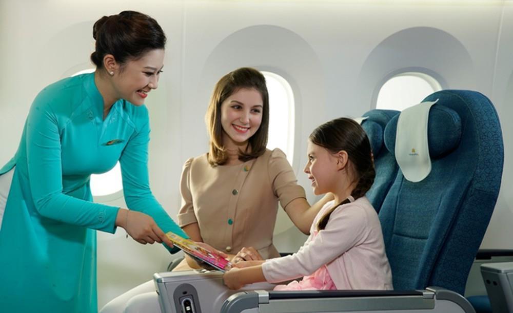 Lựa chọn ghế trống thêm không gian trên chuyến bay Vietnam Airlines