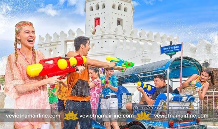 Đến Thái Lan tận hưởng Lễ hội Songkran đầy ý nghĩa