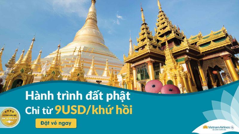 Siêu khuyến mãi vé máy bay khứ hồi chỉ 9 USD từ Vietnam Airlines