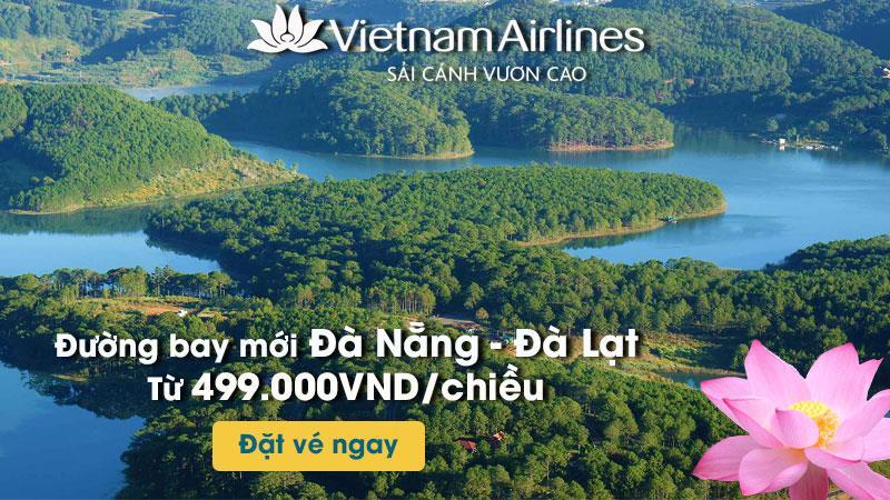 Khuyến mãi đường bay mới Đà Nẵng – Đà Lạt từ 499.000 VND/chiều