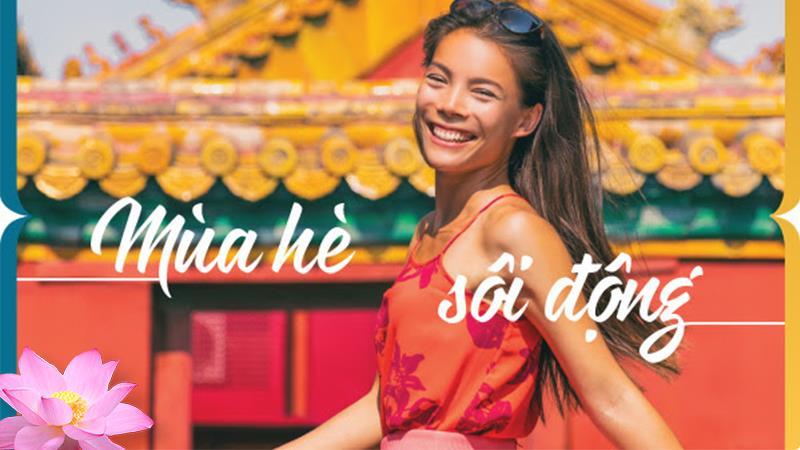 Khuyến mãi mùa hè sôi động từ Vietnam Airlines vé máy bay chỉ 9 USD