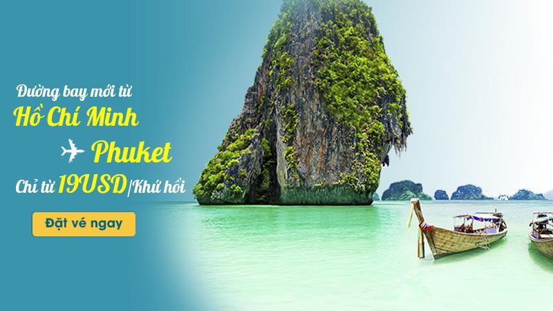 Vietnam Airlines khuyến mãi đường bay mới Hồ Chí Minh – Phuket chỉ 19 USD