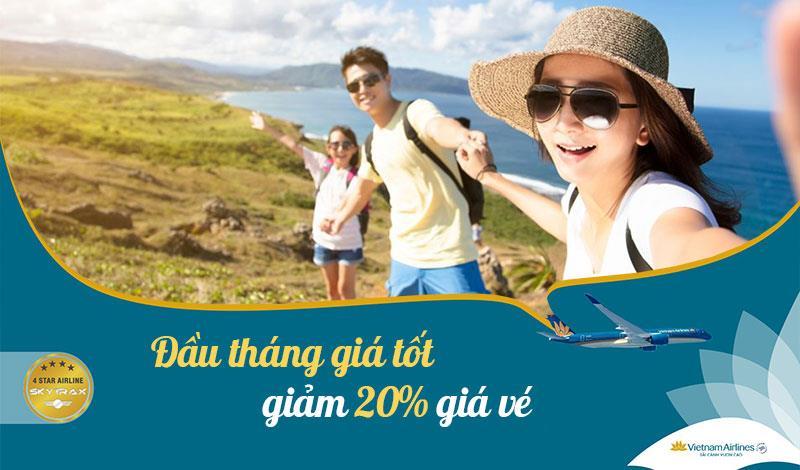 Khuyến mãi giảm 20% vé máy bay cùng Vietnam Airlines chào tháng 10
