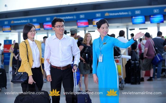 Thông tin về dịch vụ chào đón và đưa dẫn ưu tiên của Vietnam Airlines