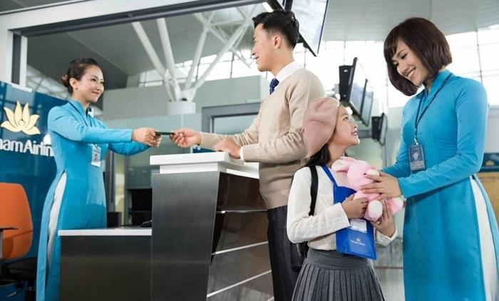 Dịch vụ ưu tiên Family check in từ Vietnam Airlines