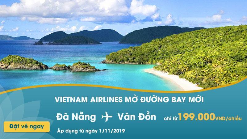 Đường bay mới Đà Nẵng – Vân Đồn Vietnam Airlines chỉ 199.000 VND
