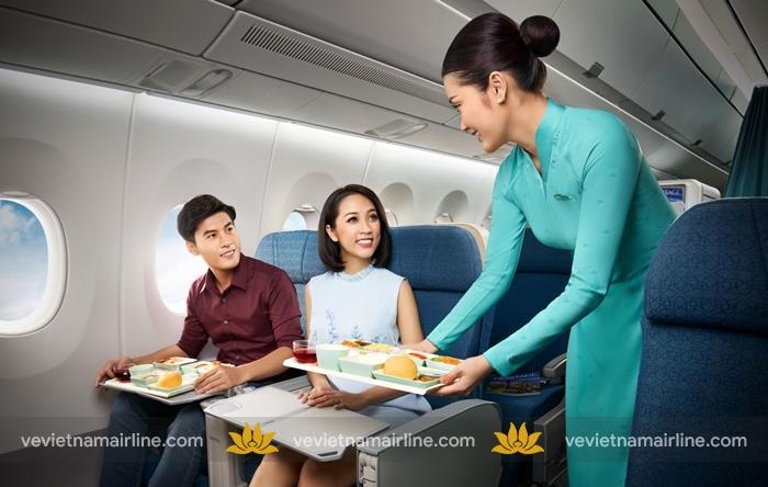 Thông tin về suất ăn đặc biệt trên máy bay Vietnam Airlines