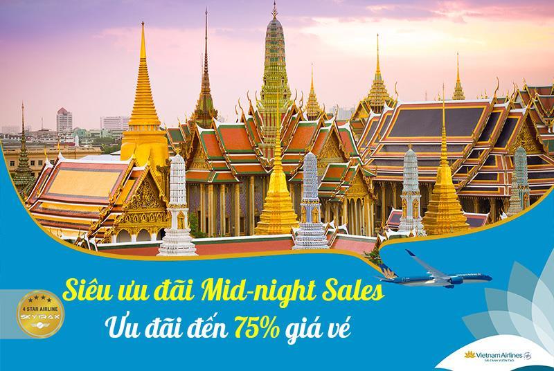 Ưu đãi đầy bất ngờ từ Vietnam Airlines vé máy bay giảm đến 75%