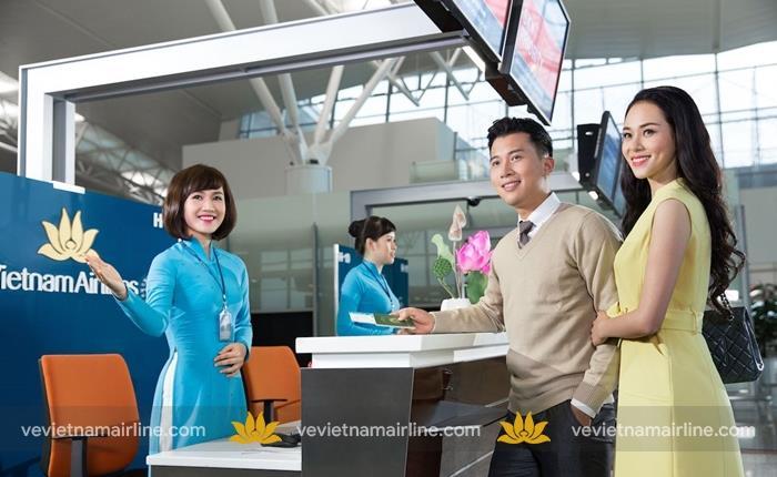 Vietnam Airlines mở quầy thủ tục riêng cho chuyến bay Hà Nội – Hồ Chí Minh