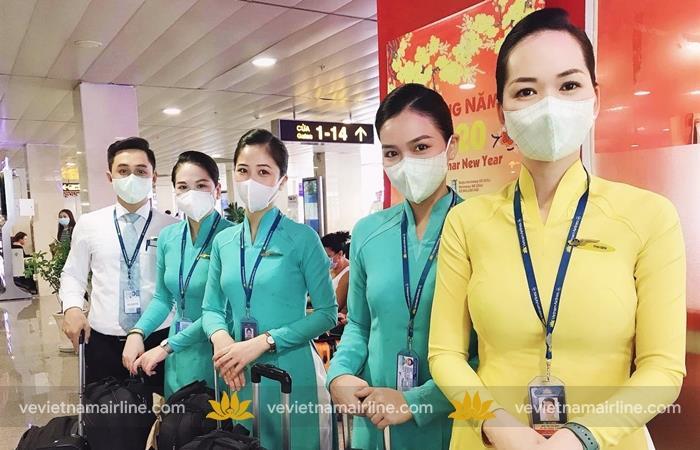 Phòng ngừa virus nCoV Vietnam Airlines thay đổi tiêu chuẩn phục vụ