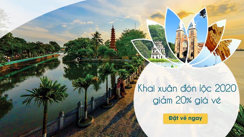 Vietnam Airlines khuyến mãi giá vé chỉ từ 199.000 VND