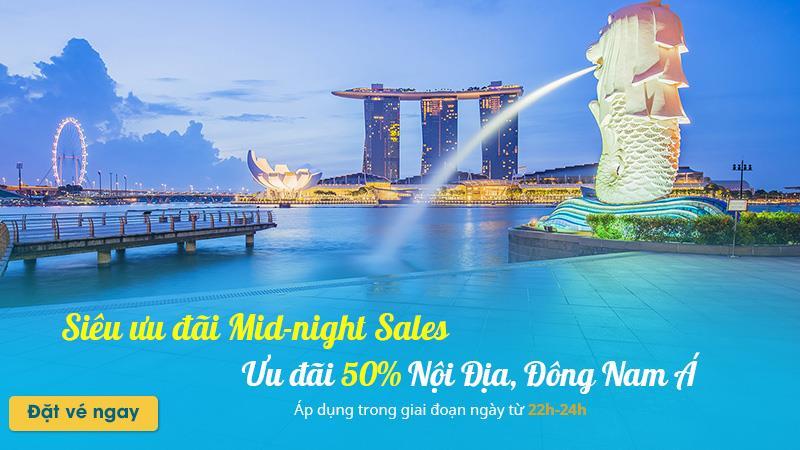 Vietnam Airlines khuyến mãi 50% Nội địa và Đông Nam Á