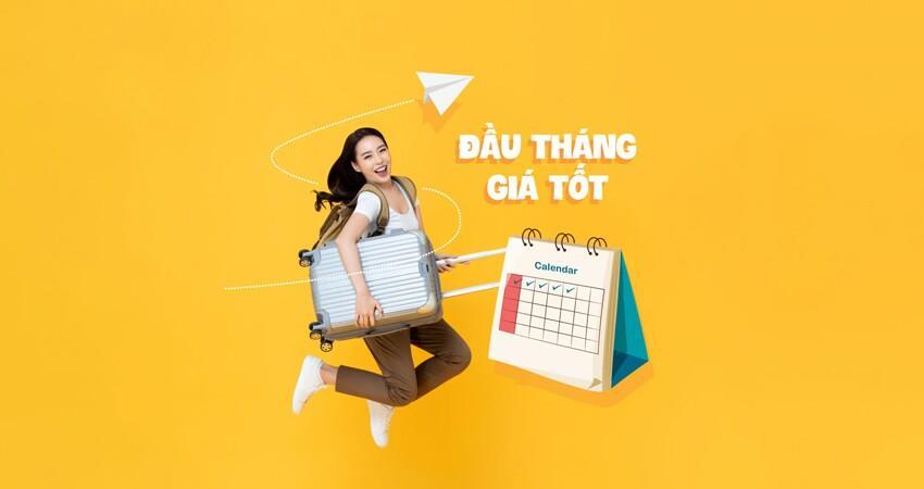 Khuyến mãi đầu tháng giá tốt của Vietnam Airlines chỉ từ 69.000 VND