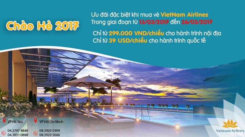 Đón hè rộn ràng với ngàn ưu đãi từ Vietnam Airlines