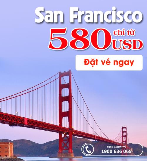 đi San Francisco giá rẻ